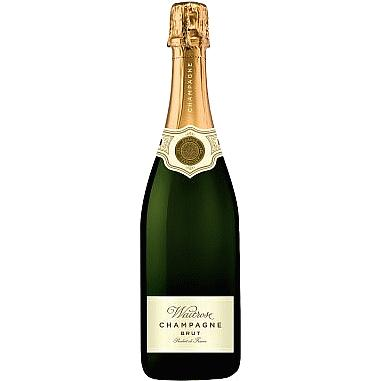 Waitrose Brut NV Champagne, half bottle 37.5cl