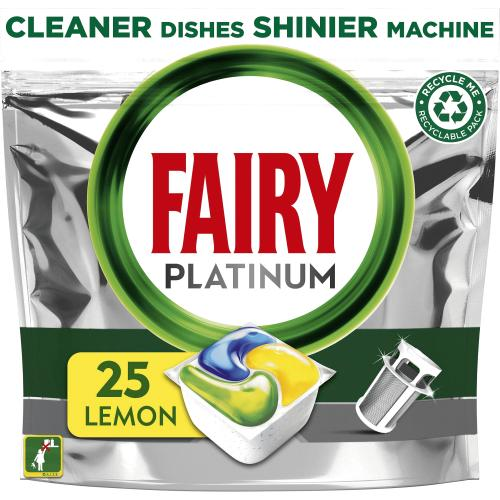 Platinum Dishwasher Tablets Lemon