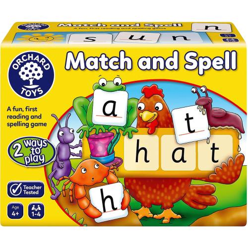 Match & Spell 4yrs+