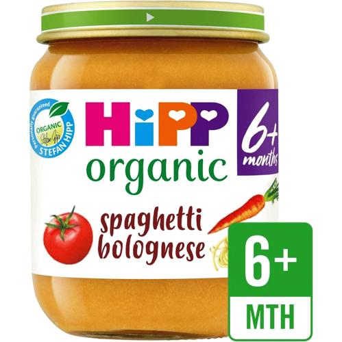 Organic Spaghetti Bolognese Baby Food Jar 6+ Months