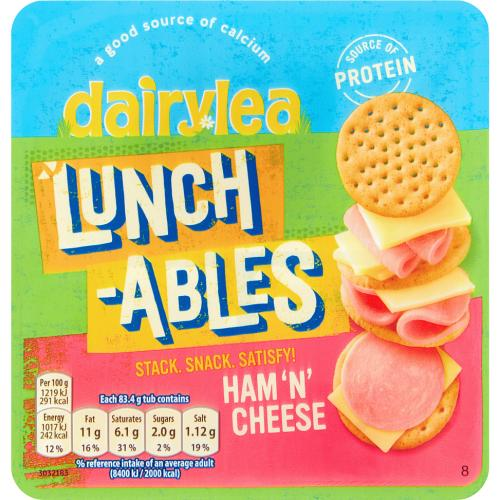Lunchables Ham & Cheese