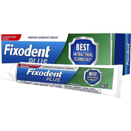 Fixodent Plus Dual Protection Denture Adhesive 40g