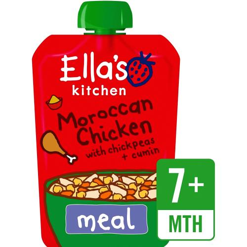 Organic Moroccan Chicken with Chickpeas Baby Pouch 7+ Months