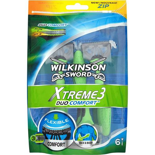 Wilkinson Sword Xtreme 3 Duo Comfort disposables 6s 6 Pack