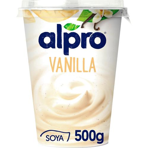 Alpro Vanilla Yoghurt Alternative 500g