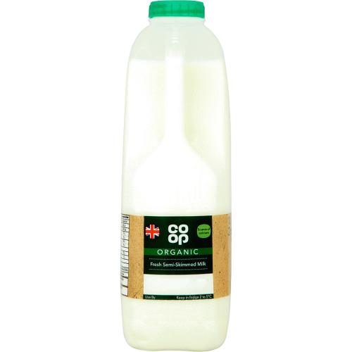 Organic Fresh Semi-Skimmed Milk