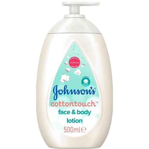 Johnson's Cottontouch Face & Body Lotion 500ml