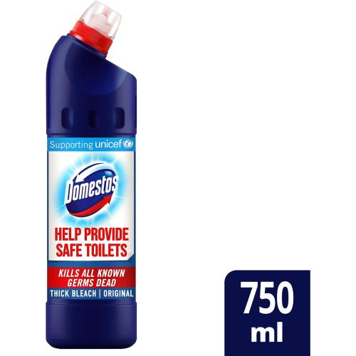 Domestos Original Thick Bleach 750ml