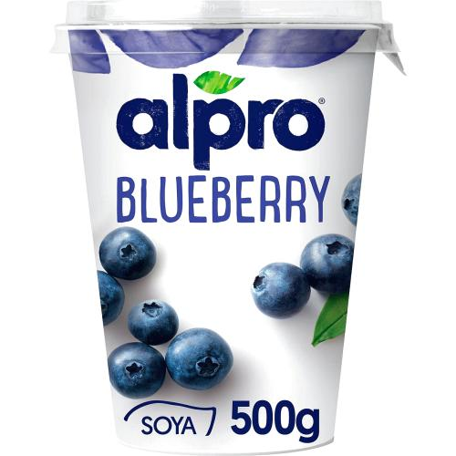 Alpro Blueberry Yoghurt Alternative 500g