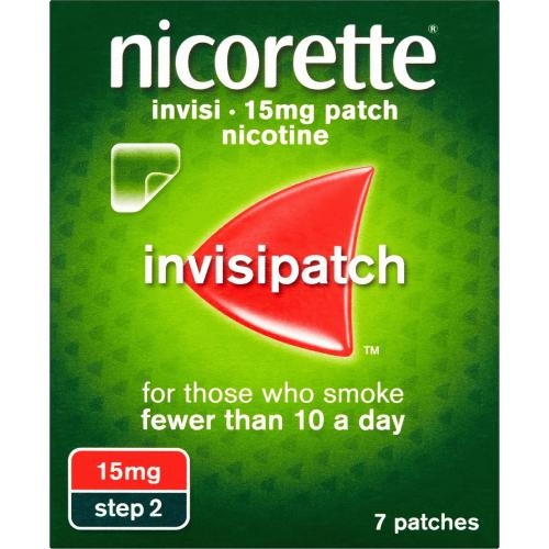 Nicorette InvisiPatch 15mg 7s