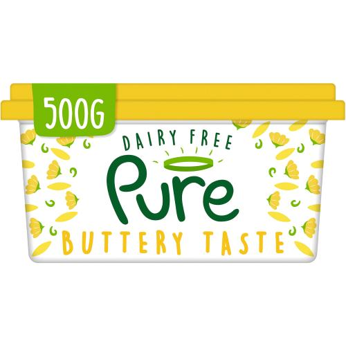 Pure Dairy Free Buttery Spread 500g