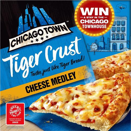Tiger Crust Cheese Medley Pizza