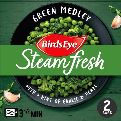 2 Steamfresh Green Medley with Garlic & Herbs