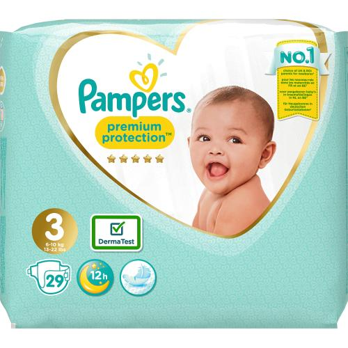New Baby Nappies Size 3 Carry Pack