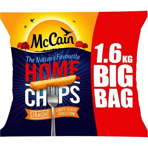 McCain Home Chips Straight 1.6kg