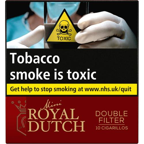 Royal Dutch Double Filter 10 Pack 10 Pack