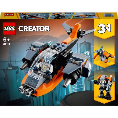 Creator 3 in 1 Cyber Drone Building Set 31111