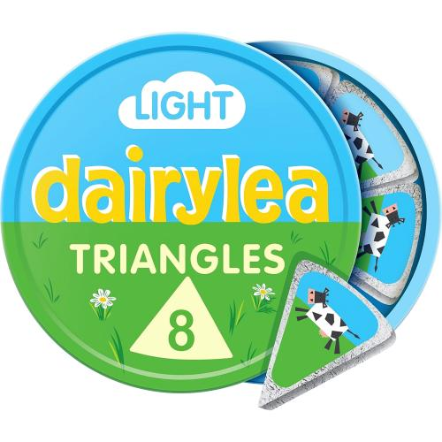 Light Cheese 8 Triangles