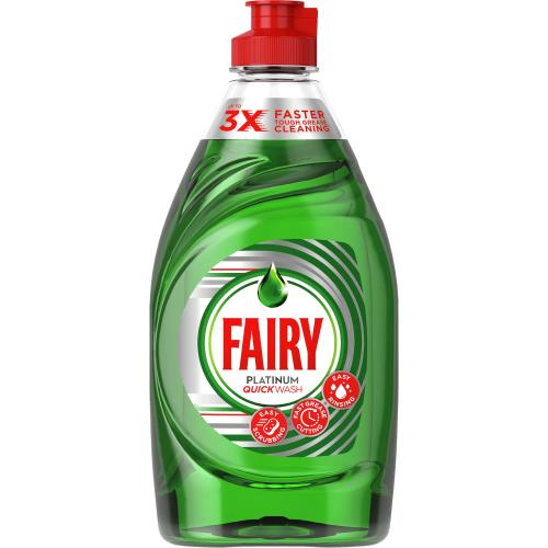 Fairy Platinum Quickwash Original Washing Up Liquid