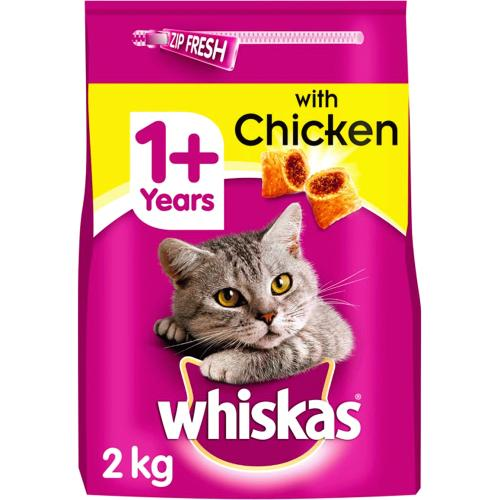 Whiskas 1+ with Chicken 2kg