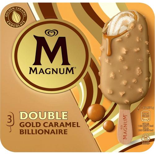 Double Gold Caramel Billionaire Ice Cream
