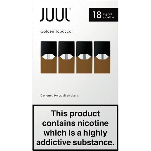 JUUL pods Golden Tobacco 18mg 4 Pack