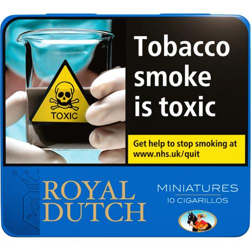Royal Dutch Blue Miniature 10 Pack 10 Pack