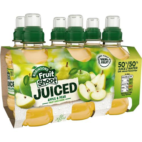 Fruit Shoot Juiced Apple & Pear Kids Juice Drink 200ml
