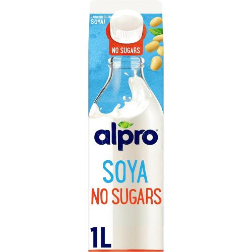 Alpro Soya No Sugars Chilled Drink 1 litre
