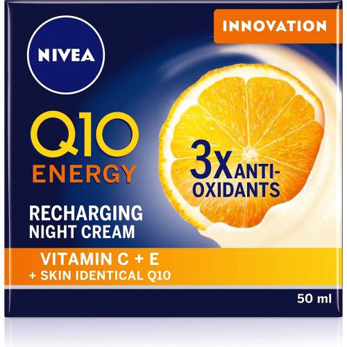 Q10 Energy Recharging Night Cream