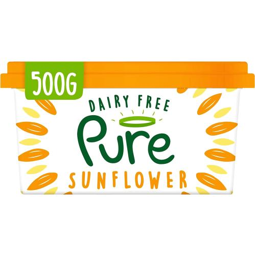 Pure Dairy Free Sunflower Spread 500g