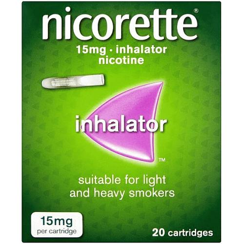 Nicorette Inhalator 15mg 20s