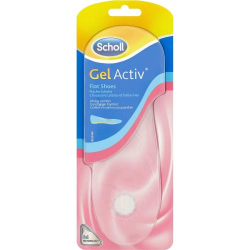 Scholl Gel Active Flat Shoes