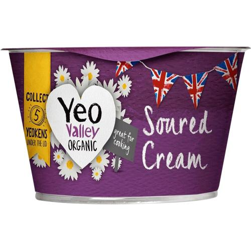 Yeo Valley Organic Soured Cream 200g