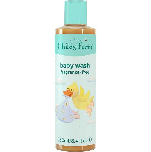 Childs Farm Baby Wash Fragrance Free 250ml