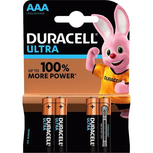Duracell Ultra AAA Batteries 4 Pack 4 Pack