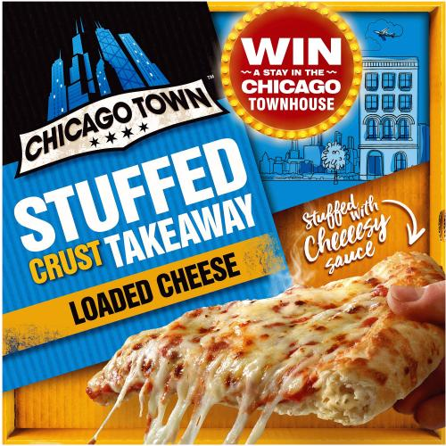 Chicago Town Takeaway Cheesy Stuffed Cheese Pizza