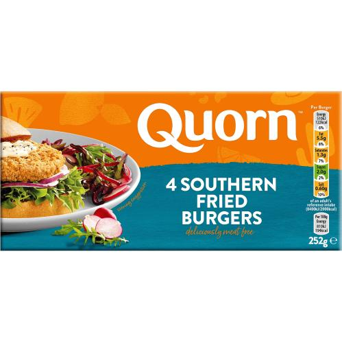 Quorn Vegetarian Southern Style Burger