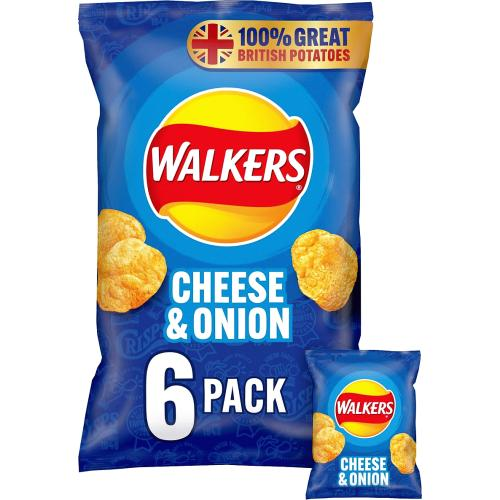 Cheese & Onion Multipack Crisps