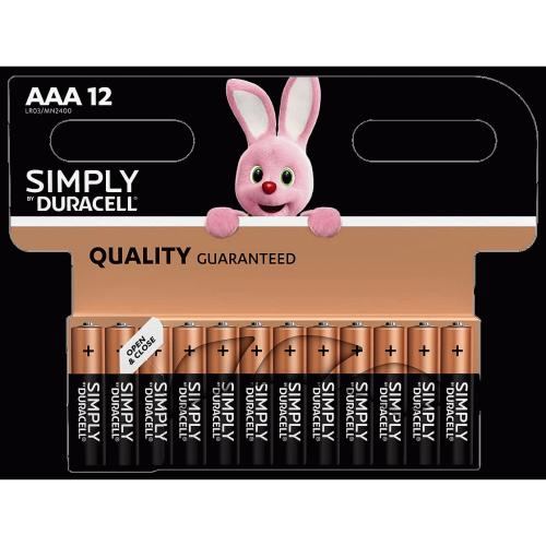 Duracell Plus AAA 12 Pack 12 Pack