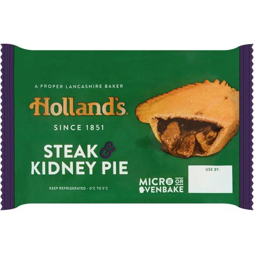 Holland's Minced Beef & Onion Pie (181g) - Compare Prices ...