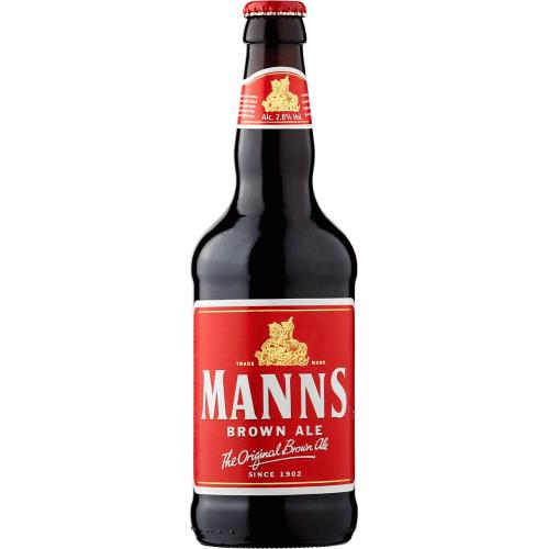 Manns Brown Ale Bottle 500ml