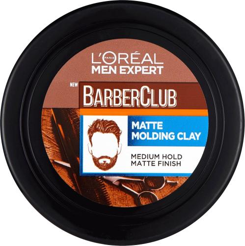 L'Oreal Men Expert Barber Club Messy Hair Clay 75ml