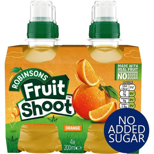 Fruit Shoot Orange Kids Juice Drink 200ml
