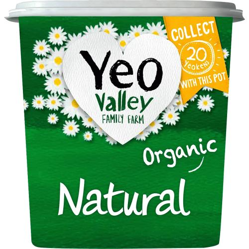 Yeo Valley Organic Natural Yogurt 1kg