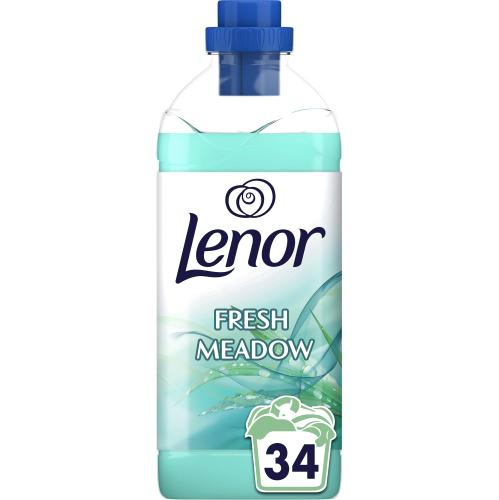 Lenor Fabric Conditioner Fresh Meadow Scent 34 Washes 1.19l