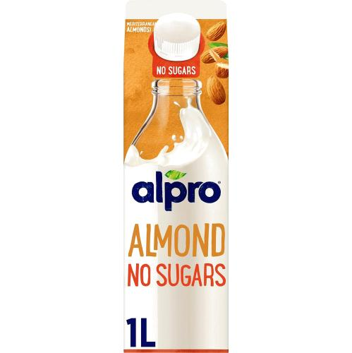 Alpro Almond No Sugars Roasted Chilled Drink 1l