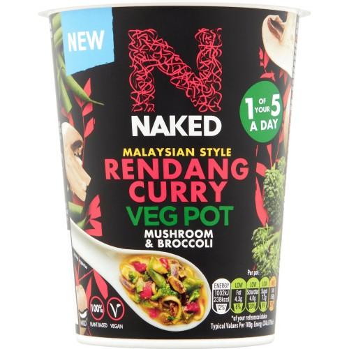 Buy Naked Korean Style BBQ Ramen Veg Pot 60g Online - Lulu