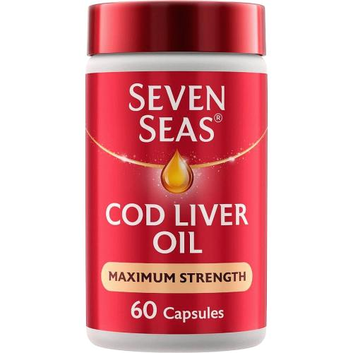 Cod Liver Oil Max Strength 60's