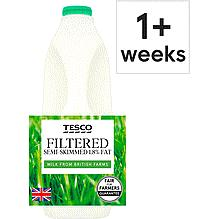Filtered Semi Skimmed Milk